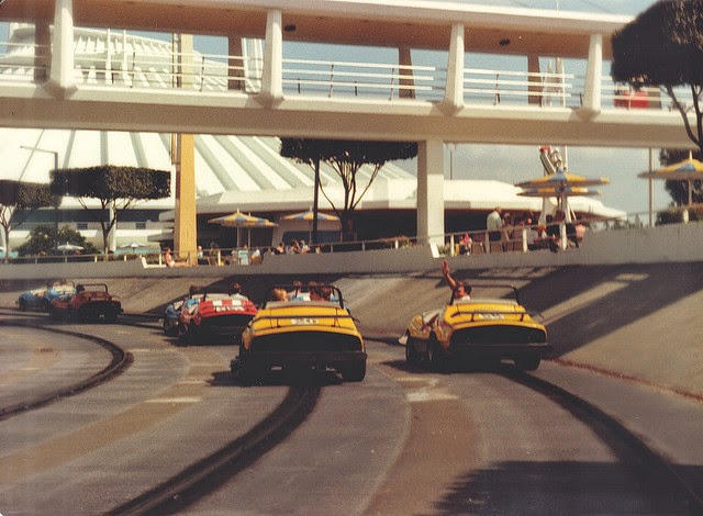 Tomorrowland Speedway sponsored by Goodyear from 1971-1999